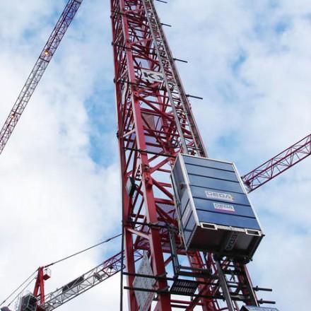 Kule Vinç Operatörü Asansörleri